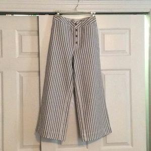 Emmett Wide Leg Crop Pants